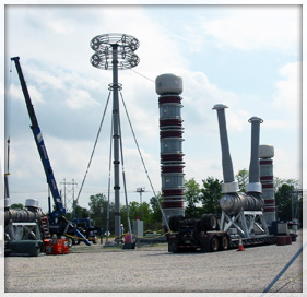High Voltage Test Yard